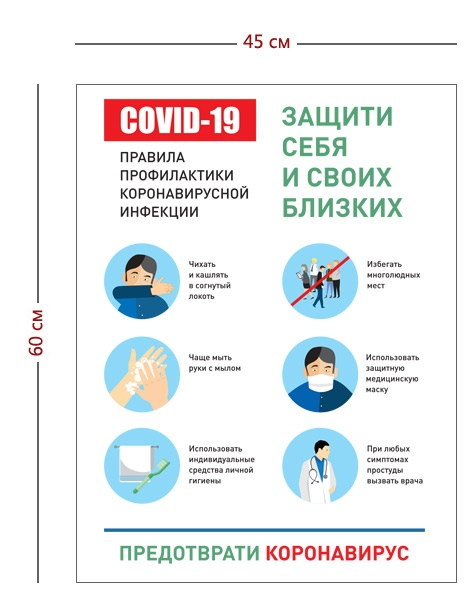 Постер по профилактике